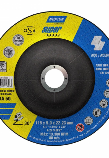 Disco de desbaste 115 x 5,0 x 22,23 Norton Super