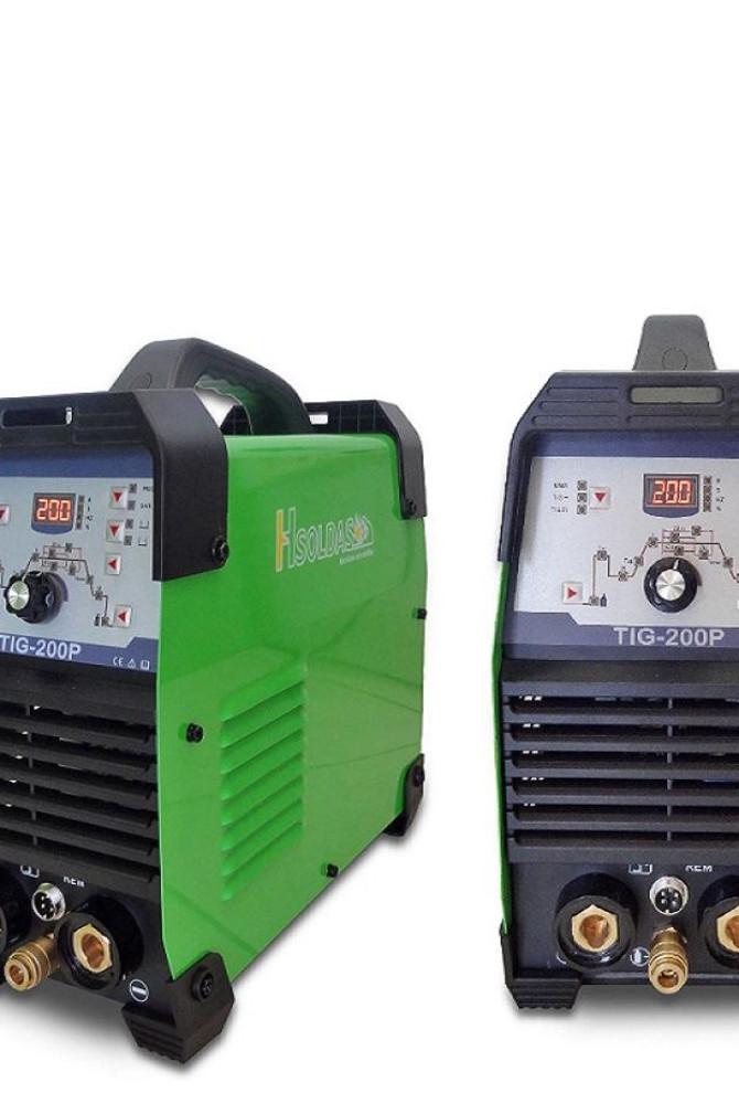 Inversora de Solda TIG 200 DC Pulsada HSOLDAS