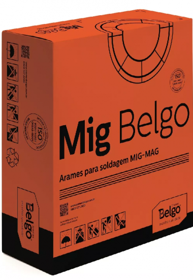 Arame de solda MIG/MAG 1,2 mm