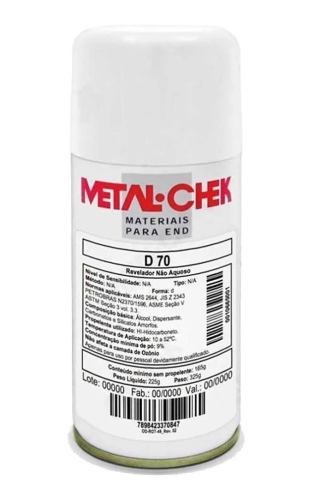 Revelador Não Aquoso Metal-Chek D-70