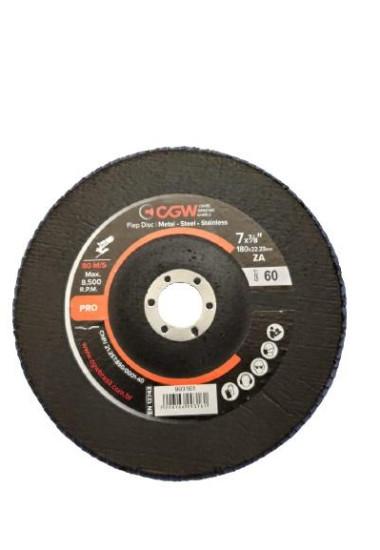 Disco Flap 7'' (180mm) CGW Linha Pro - #060